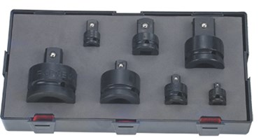 Slagmoer adaptor set - ball type - 7dlg
