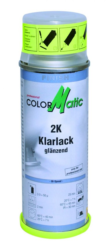 COLORMATIC 2K BLANKE LAK HOOGGLANS 200ML (1ST)