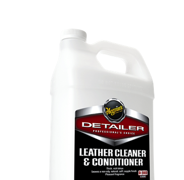 LEATHER CLEANER & CONDITIONER 3.78LTRS