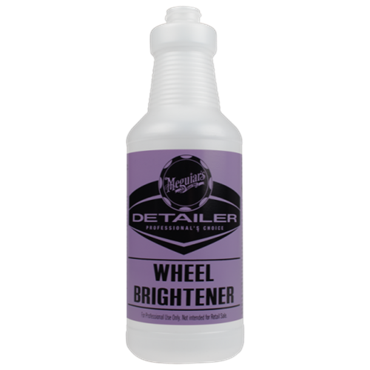 WHEEL BRIGHTENER BOTTLE (EXCL. SPRAYER) 945ML FLES