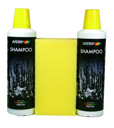 MOTIP SHAMPOO WASH AND SHINE 2X 500ML (1ST)