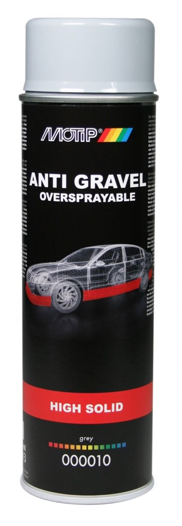 MOTIP UNDERCOATING ANTI STEENSLAG GRIJS 500ML (1ST)