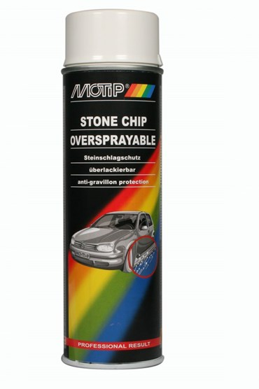 MOTIP UNDERCOATING ANTI STEENSLAG WIT 500ML (1ST)