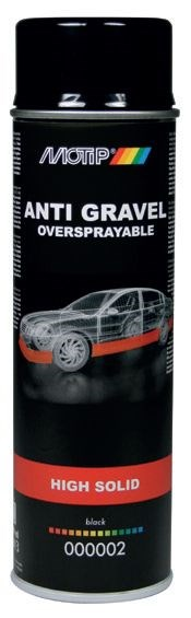 MOTIP UNDERCOATING ANTI STEENSLAG ZWART 500ML (1ST)