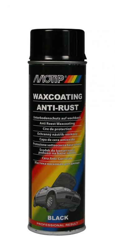 MOTIP UNDERCOATING WAX ZWART 500ML (1ST)